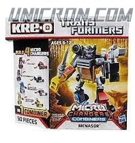 Transformers Kre-O Menasor (Dead End, Motorbreath, Decepticon Breakdown and Decepticon Dragstrip), (Kre-O Microchanger Combiners) toy
