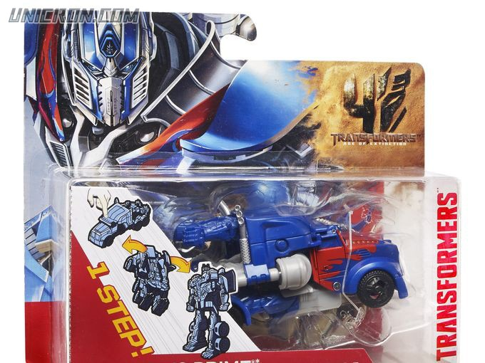 Transformers 4 Age of Extinction Optimus Prime (AoE One-Step Changer) toy