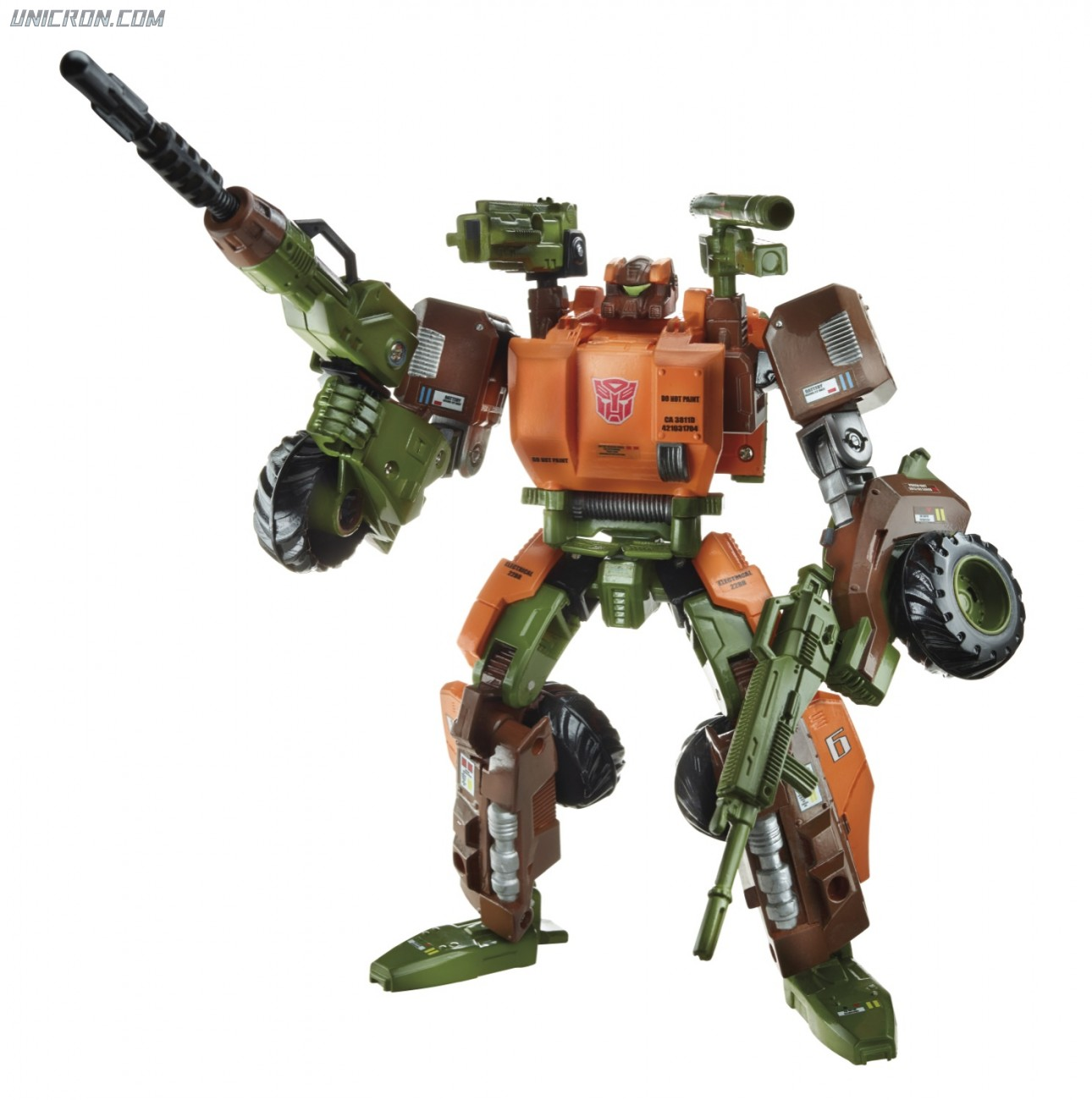 All Transformers Toys : Transformers generations roadbuster voyager unicron