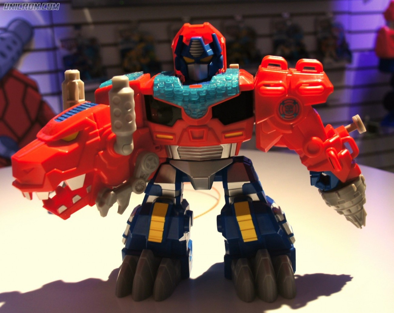 Transformers Rescue Bots Optimus Primal (Rescue Bots T-rex) toy
