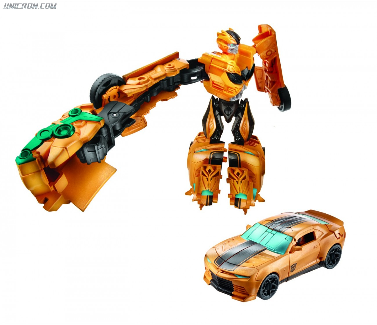 Transformers 4 Age of Extinction Bumblebee - AoE Power Battlers toy