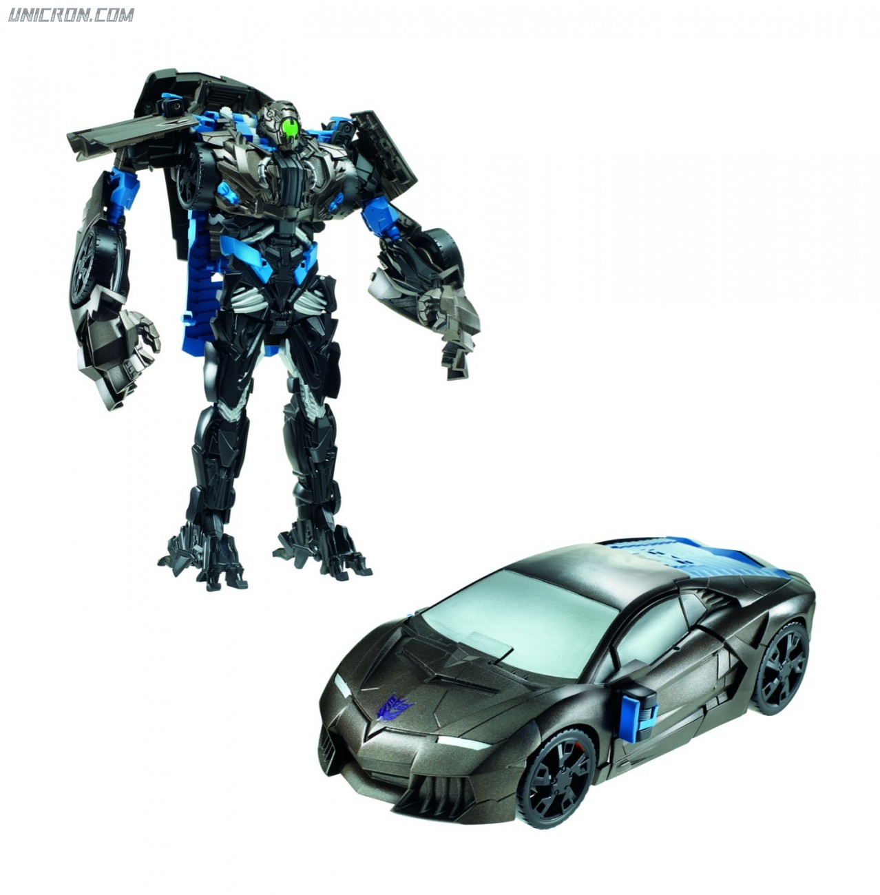 Transformers 4 Age of Extinction Lockdown - AoE Flip & Change toy