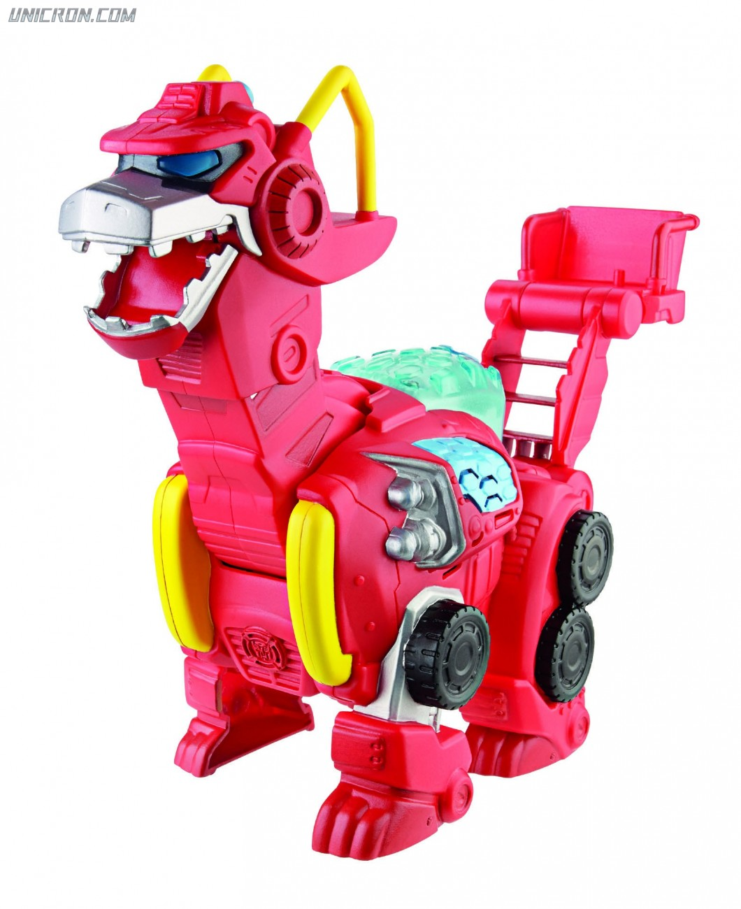 Transformers Rescue Bots Heatwave the Dino toy