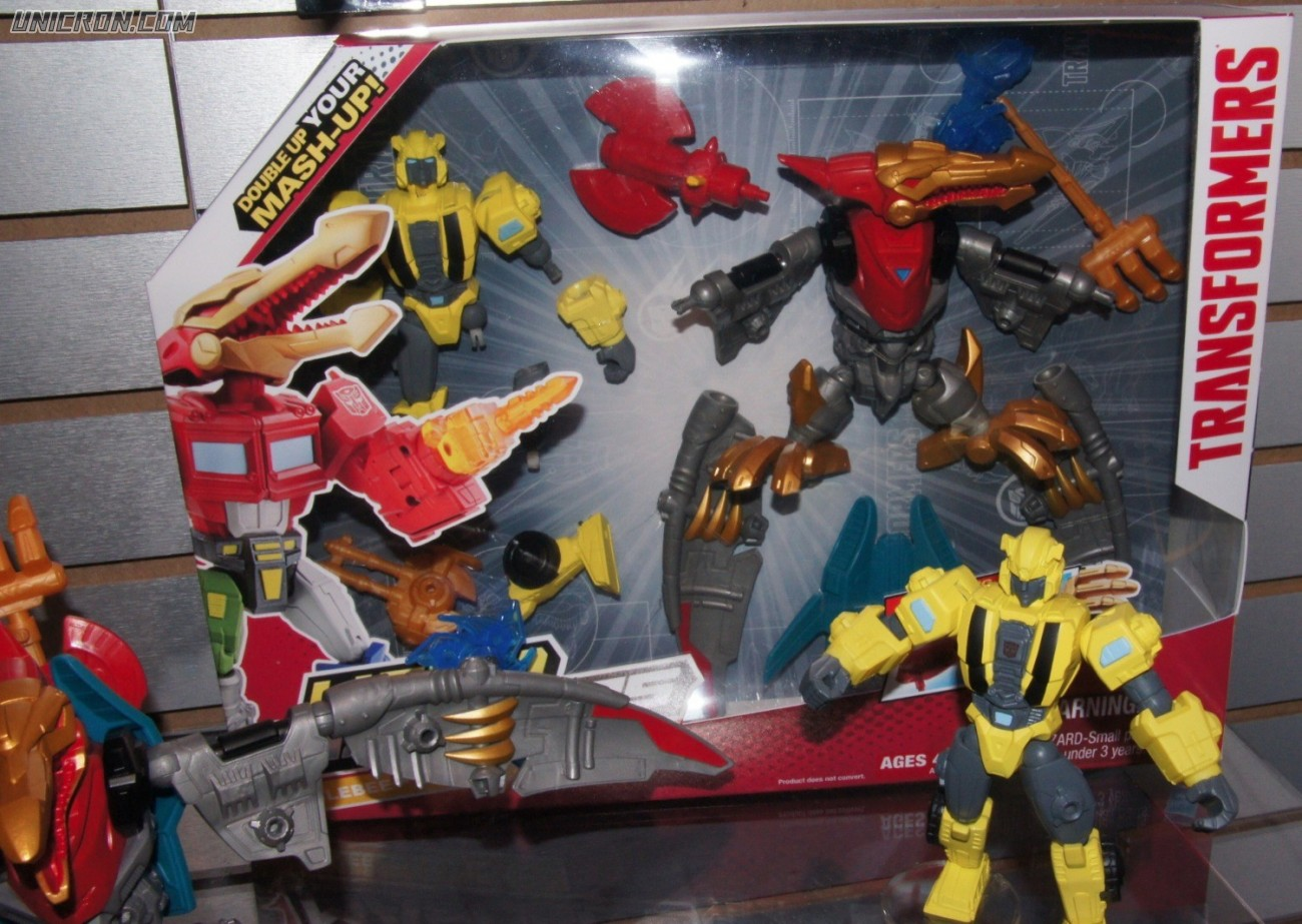 Transformers Hero Mashers Swoop and Bumblebee (Hero Mashers) toy