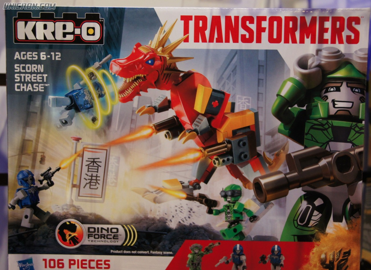 Transformers Kre-O Scorn Street Chase (Kre-O with Crosshairs) toy