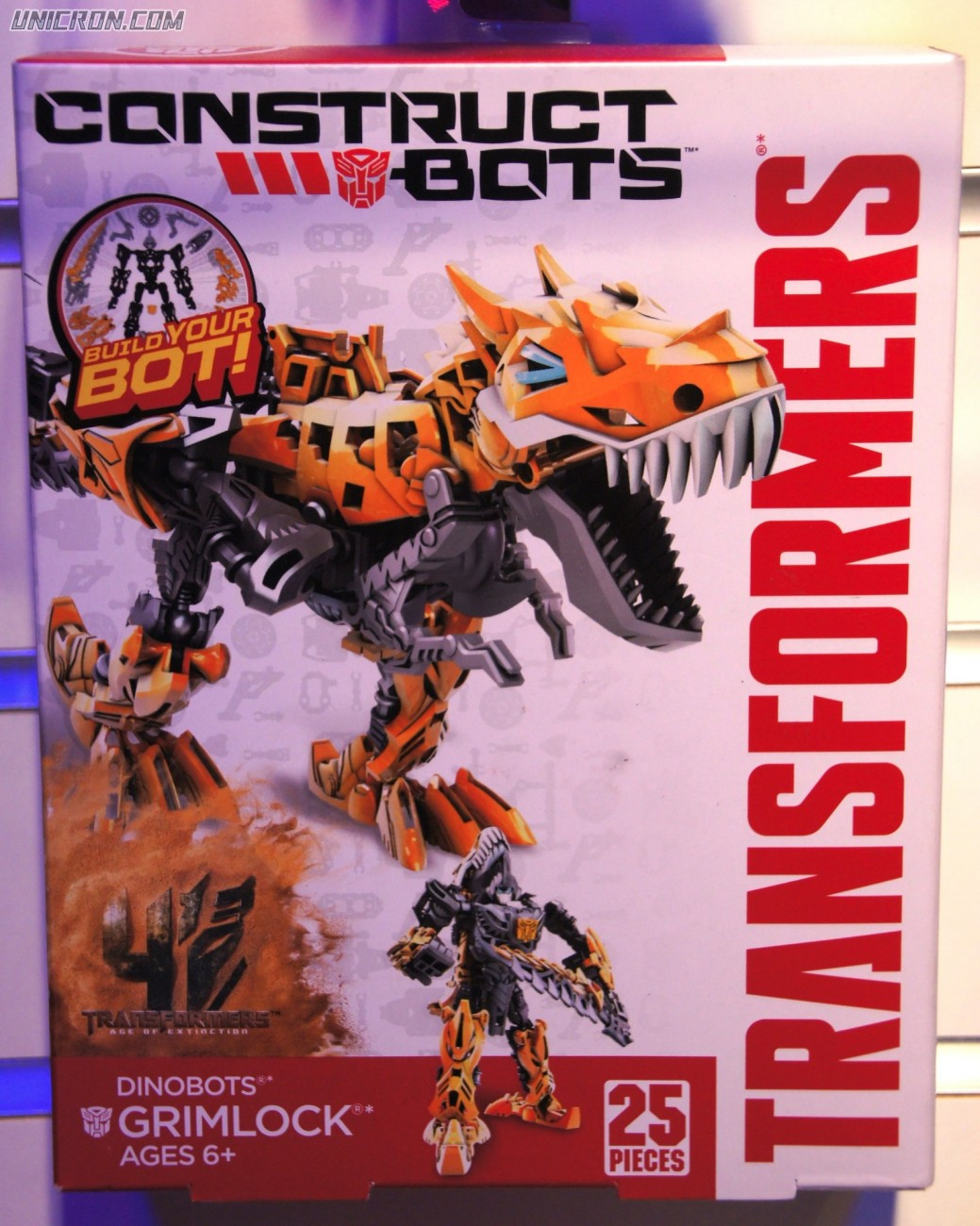 Transformers Construct-Bots Grimlock (Construct Bots) toy