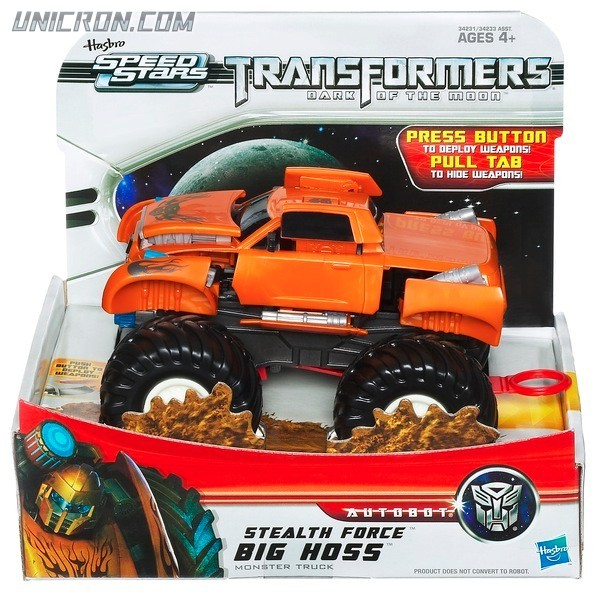 Transformers RPMs/Speed Stars Big Hoss (Stealth Force) toy