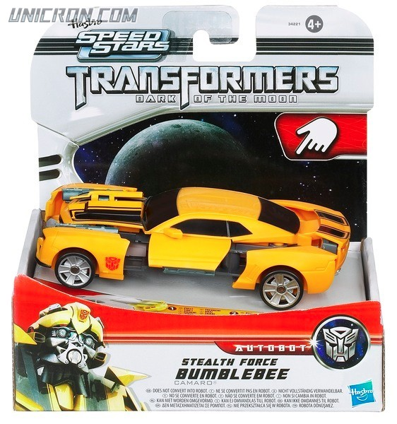 Transformers RPMs/Speed Stars Stealth Force Bumblebee toy