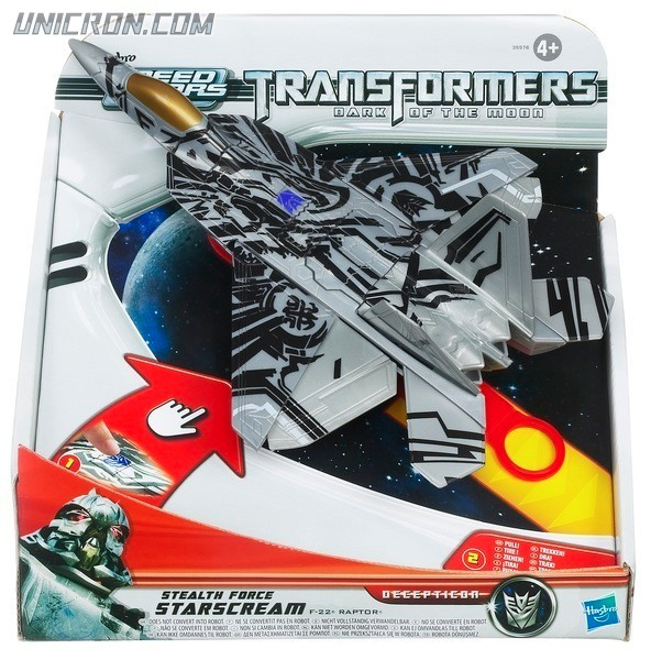 Transformers RPMs/Speed Stars Stealth Force Starscream toy