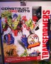 Transformers Construct-Bots Optimus Prime with Gnaw - Construct-Bots Dinobot Warriors toy