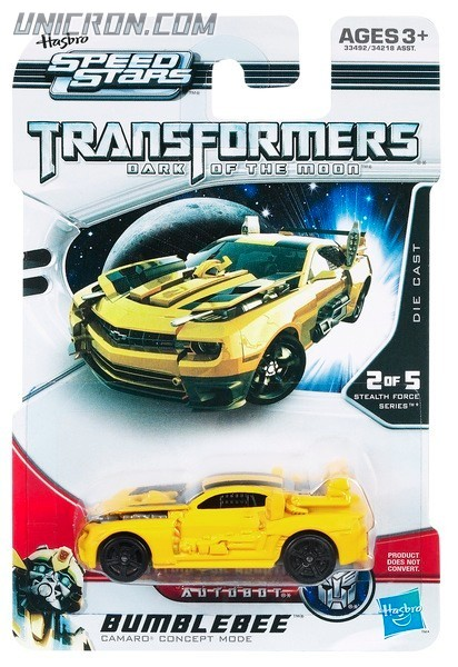 Transformers RPMs/Speed Stars Bumblebee (Speed Stars w/ guns) toy