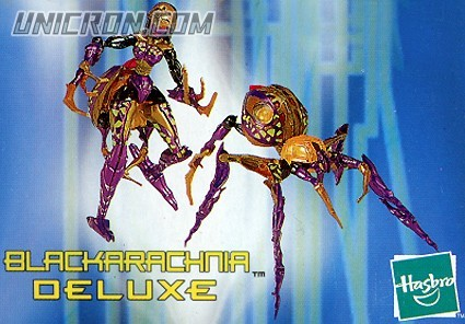 Transformers Beast Machines Blackarachnia toy