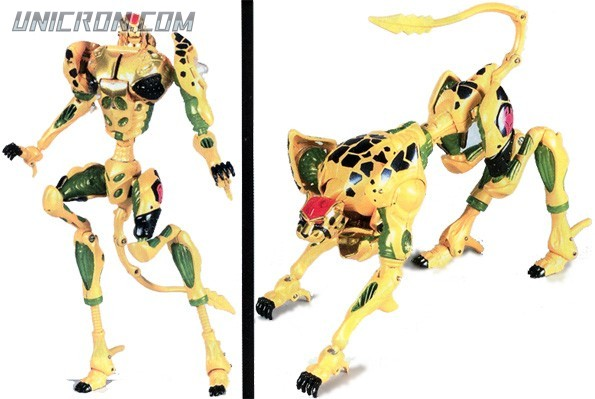 Transformers Beast Machines Cheetor toy