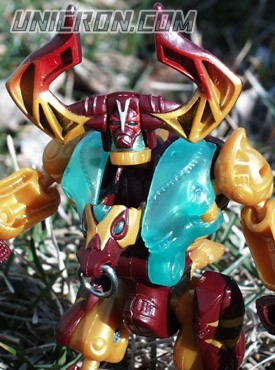 Transformers Beast Machines Longhorn toy
