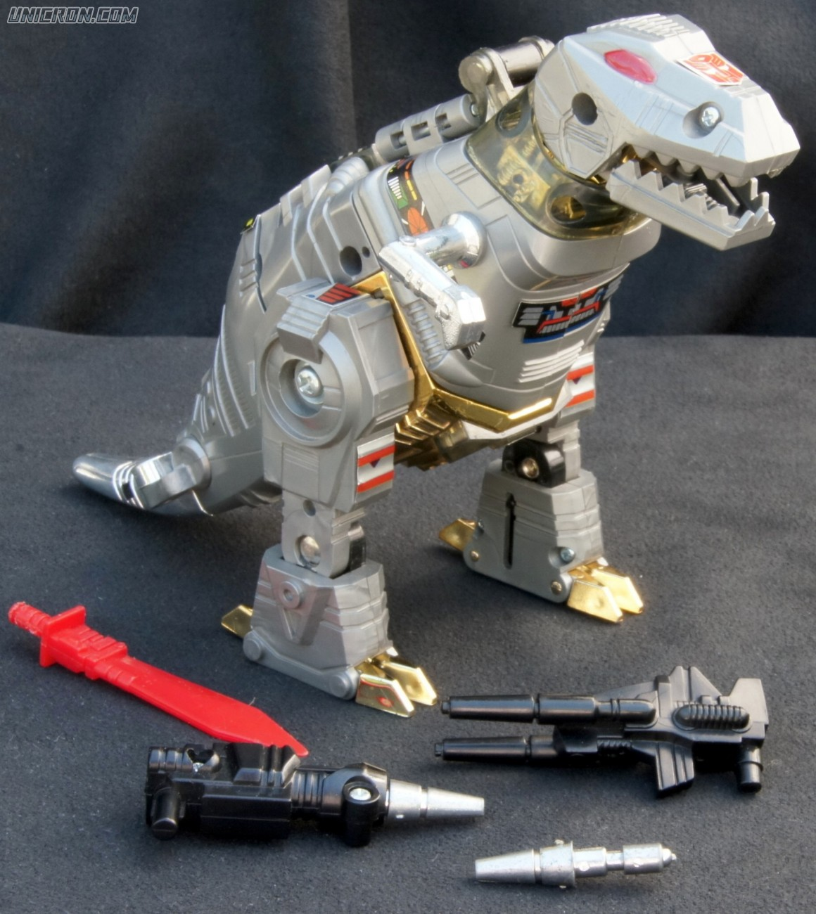 Transformers Generation 1 Grimlock toy