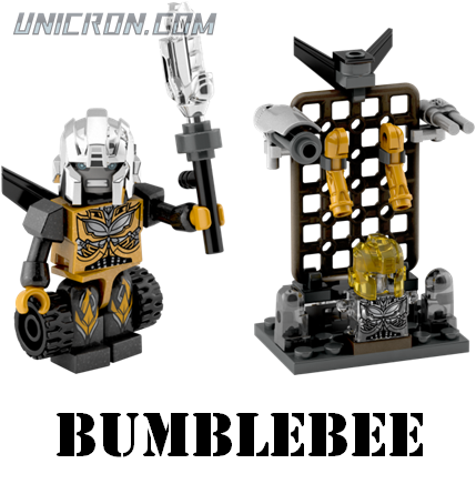 Transformers Kre-O Bumblebee (Custom Kreon) toy