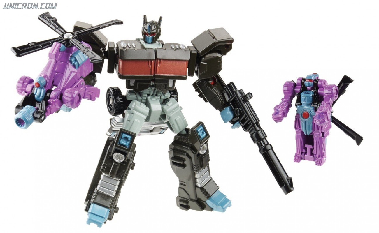 Transformers Generations Nemesis Prime & Spinister toy