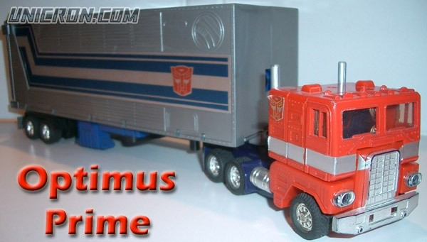 Transformers Generation 1 Optimus Prime toy