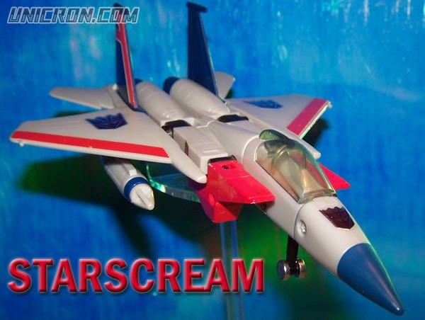 Transformers Generation 1 Starscream toy
