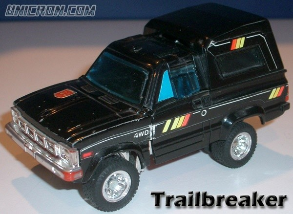 Transformers Generation 1 Trailbreaker toy