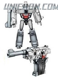 Transformers Reveal The Shield Legends Megatron toy