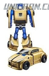 Transformers Reveal The Shield Legends Gold Bumblebee toy
