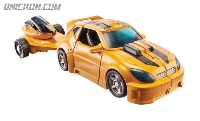 Transformers Reveal The Shield Bumblebee toy