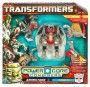 Transformers Power Core Combiners Grimstone with Dinobots toy