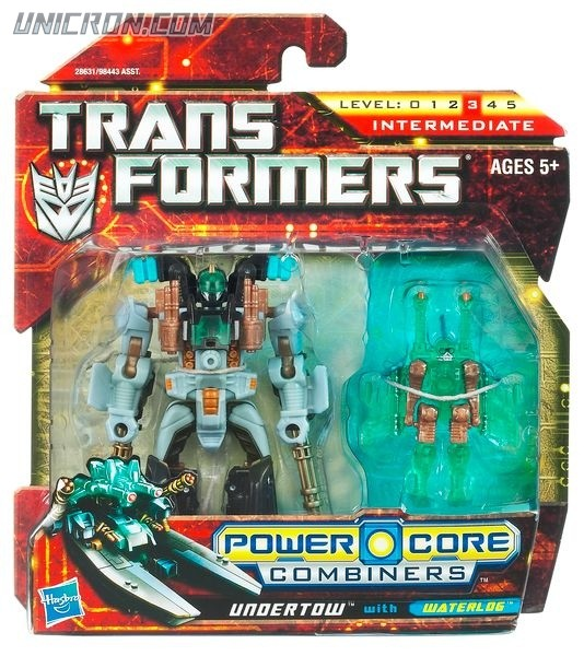 Transformers Power Core Combiners Undertow with Waterlog toy