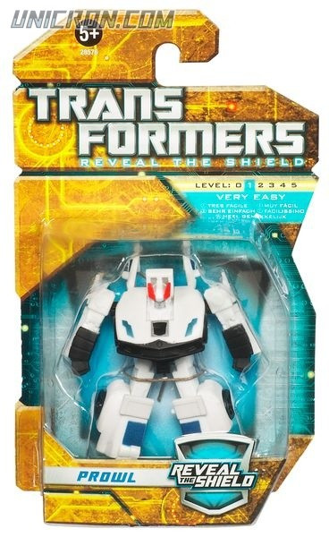Transformers Reveal The Shield Legends Prowl toy