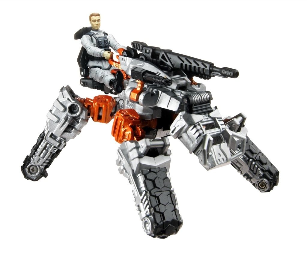 Transformers 3 Dark of the Moon Thunderhead with Major Tungsten toy