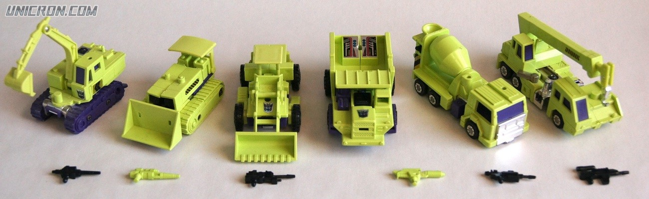 Transformers Generation 1 Devastator (Giftset) toy