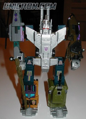 Transformers Generation 1 Bruticus (Giftset) toy