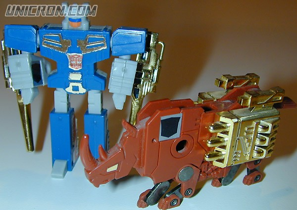 Transformers Generation 1 Ramhorn and Eject toy