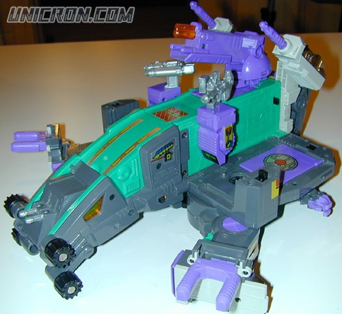 Transformers Generation 1 Trypticon toy