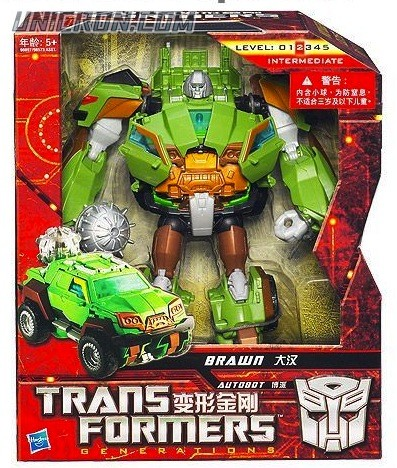 Transformers Generations Brawn toy