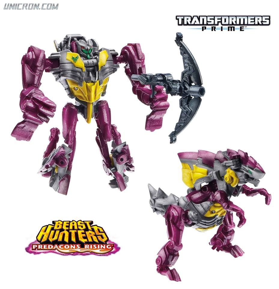 Transformers Prime Predacons Rising: Legion 2-Pack, Smokescreen, Cincersaur toy