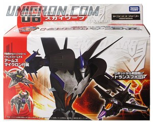 Transformers Prime (Arms Micron - Takara) AM-06 Skywarp with Balo toy