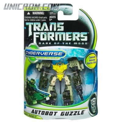 Transformers Cyberverse Autobot Guzzle toy