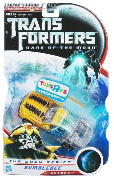 Transformers 3 Dark of the Moon Scan Series Bumblebee toy