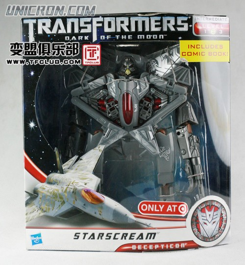 Transformers 3 Dark of the Moon Starscream (Voyager) toy
