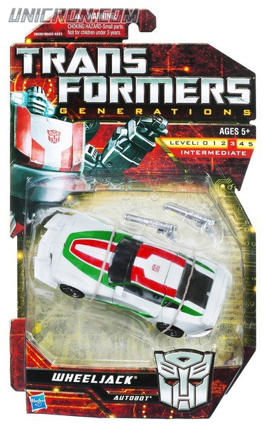 Transformers Generations Wheeljack toy