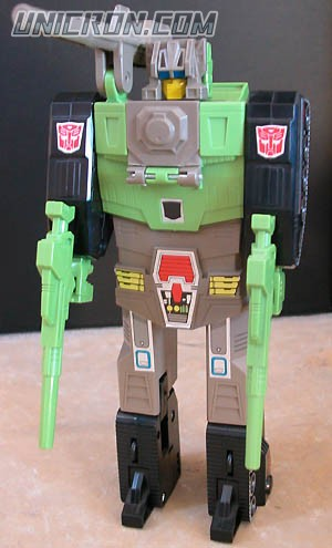 Transformers Generation 1 Hardhead with Duros toy