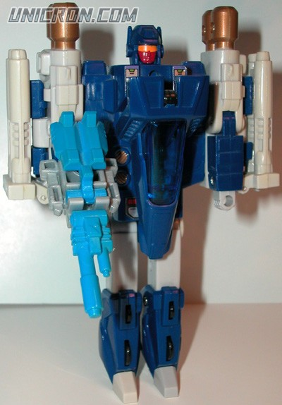 Transformers Generation 1 Triggerhappy with Blowpipe toy