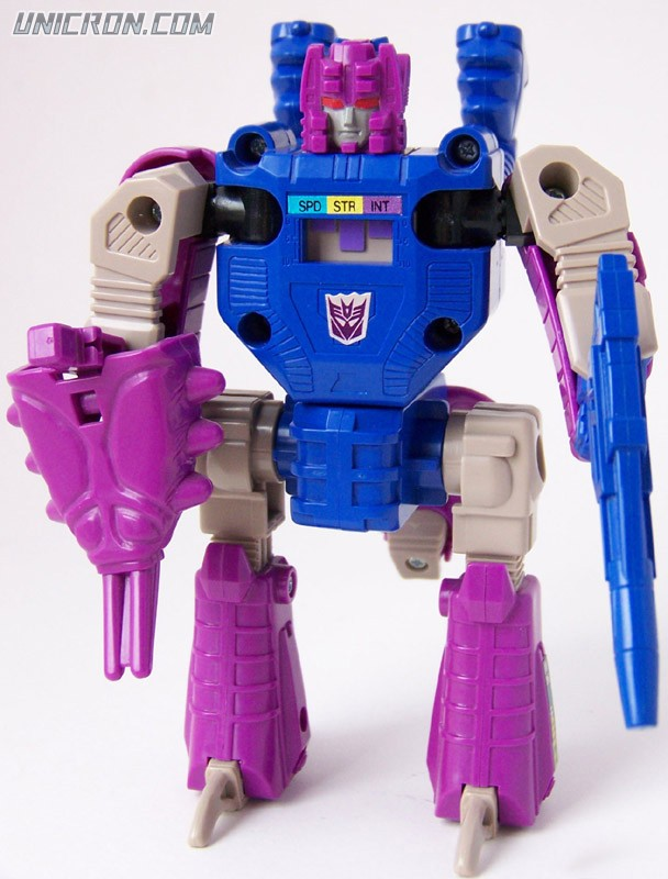 Transformers Generation 1 Squeezeplay (Headmaster) with Lokos toy