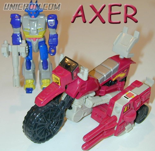 Transformers Generation 1 Axer (Action Master) Turbo Cycle toy