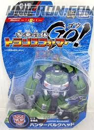Transformers Go! (Takara) G15 Hunter Bulkhead toy