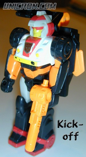 Transformers Generation 1 Kick-Off (Action Master) with Turbo-Pack toy