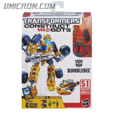 Transformers Construct-Bots Arsenal Pack Bumblebee toy