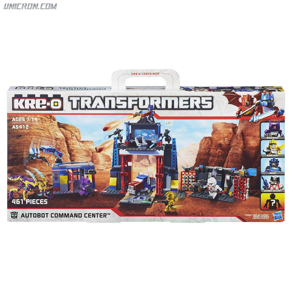 Transformers Kre-O Kre-O Autobot Command Center (with Bumblebee, Autobot Ratchet, Arcee and Shockwave) toy